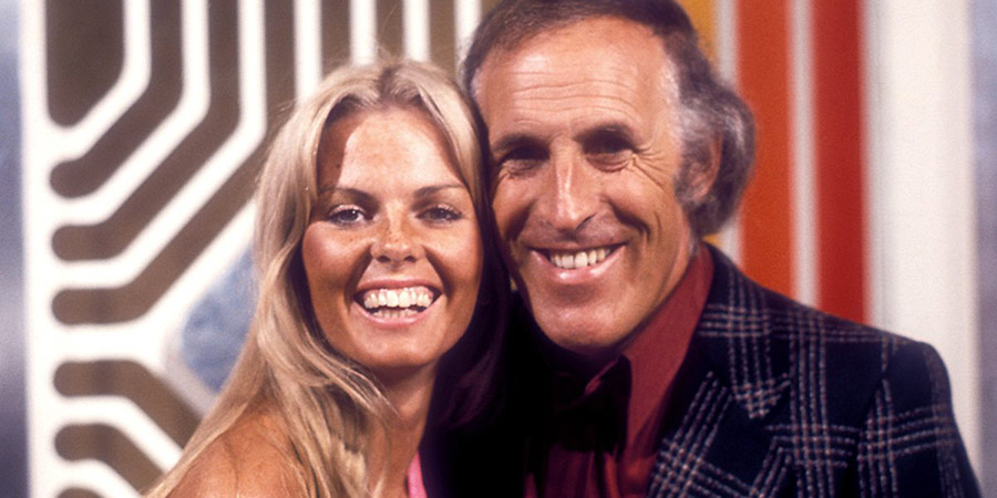 The Generation Game. Image shows from L to R: Anthea Redfern, Bruce Forsyth. Copyright: BBC.