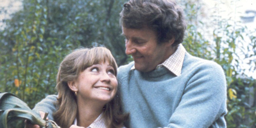 The Good Life. Image shows from L to R: Barbara Good (Felicity Kendal), Tom Good (Richard Briers). Copyright: BBC.