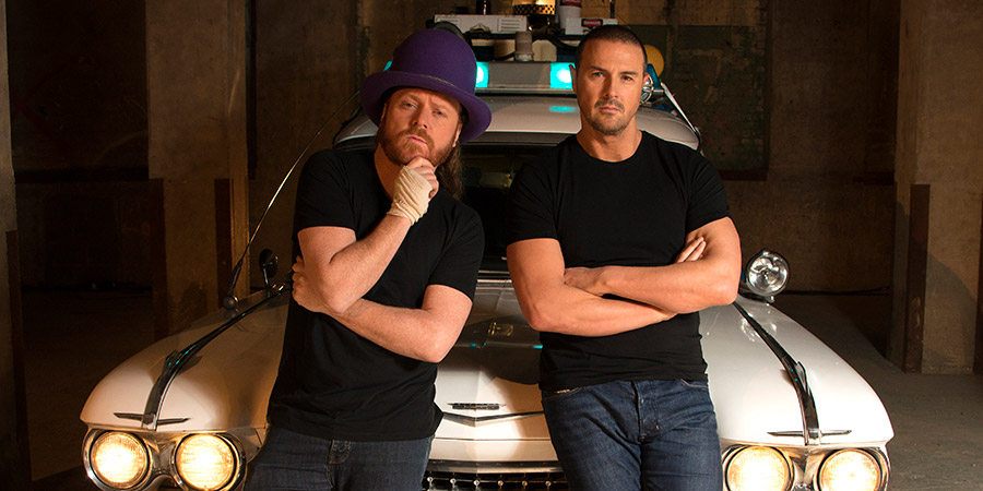 The Keith & Paddy Picture Show. Image shows from L to R: Leigh Francis, Paddy McGuinness. Copyright: Talkback.