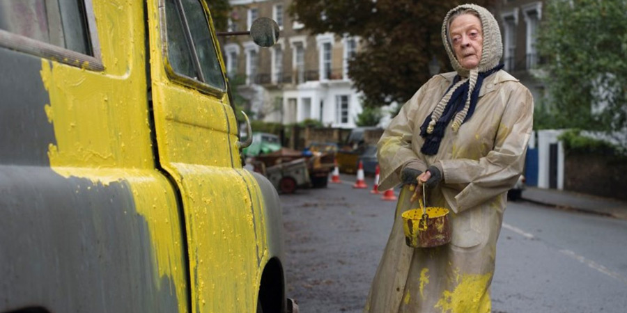 The Lady In The Van. Miss Shepherd (Maggie Smith). Copyright: BBC Films.