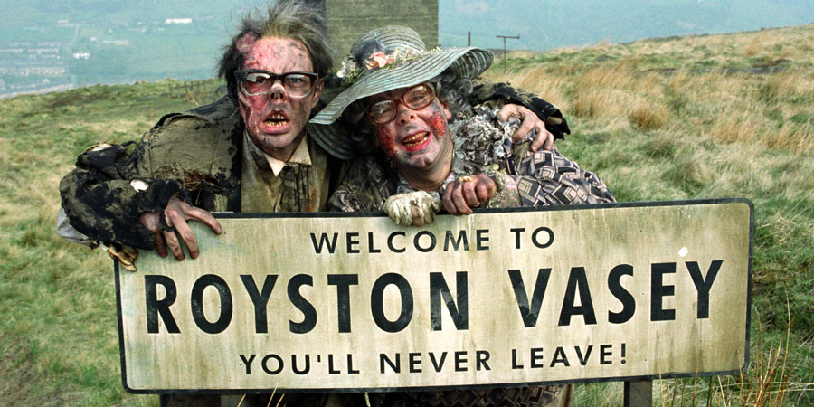 The League Of Gentlemen. Image shows from L to R: Edward (Reece Shearsmith), Tubbs (Steve Pemberton). Copyright: BBC.