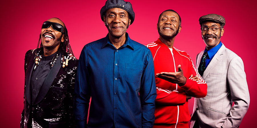 The Lenny Henry Birthday Show. Image shows from L to R: Lenny Henry, Lenny Henry, Lenny Henry, Lenny Henry. Copyright: BBC.