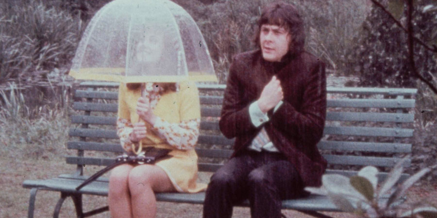 The Lovers!. Image shows from L to R: Beryl (Paula Wilcox), Geoffrey (Richard Beckinsale). Copyright: Gildor Films.