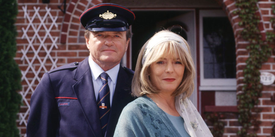 The Missing Postman. Image shows from L to R: Clive Peacock (James Bolam), Christine Peacock (Alison Steadman).