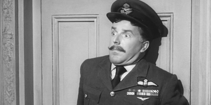 The Night We Dropped A Clanger. Aircraftsman Arthur Atwood (Brian Rix). Copyright: Four Star Films.
