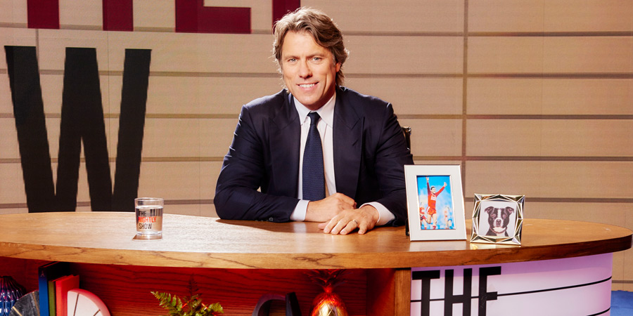 The Nightly Show. John Bishop.