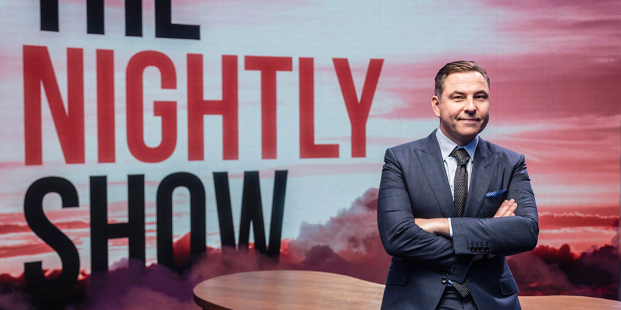 The Nightly Show. David Walliams.