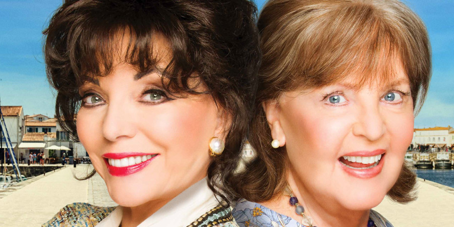 The Time Of Their Lives. Image shows from L to R: Helen (Joan Collins), Priscilla (Pauline Collins).