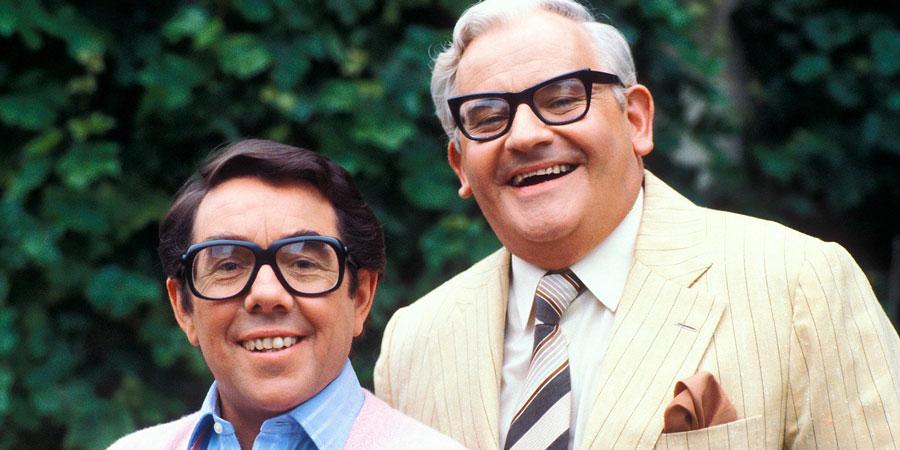 The Two Ronnies. Image shows from L to R: Ronnie Corbett, Ronnie Barker. Copyright: BBC.