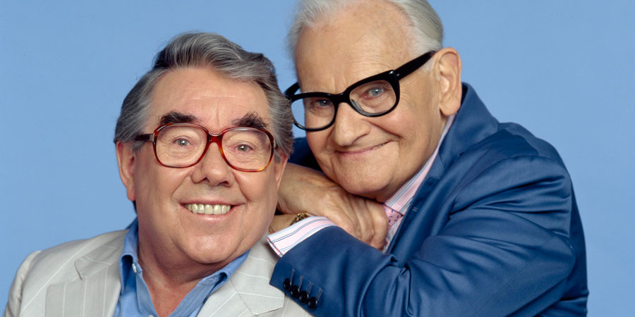 The Two Ronnies Sketchbook. Image shows from L to R: Ronnie Corbett, Ronnie Barker. Copyright: BBC.