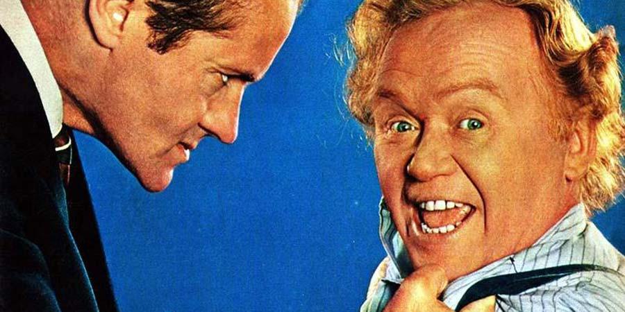 The Worker. Image shows from L to R: Mr Pugh (Henry McGee), Charlie (Charlie Drake).
