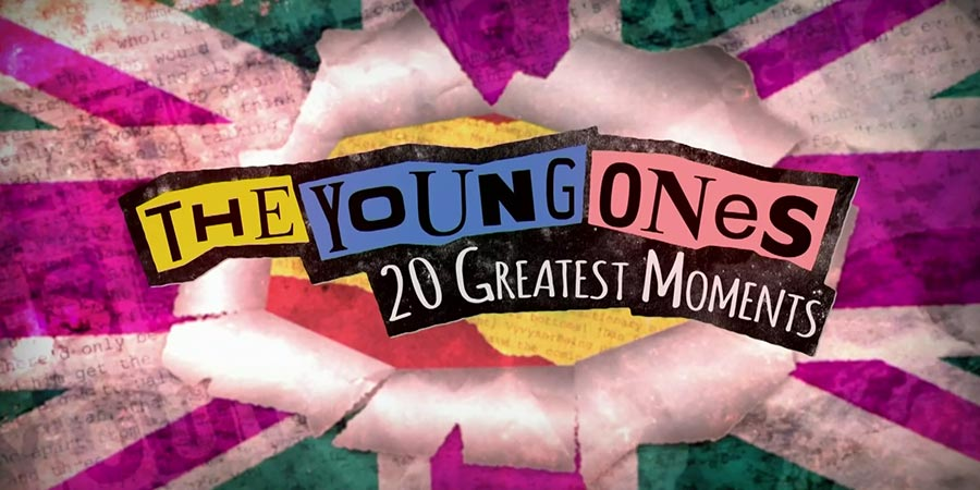 The Young Ones' 20 Greatest Moments. Copyright: North One Television.