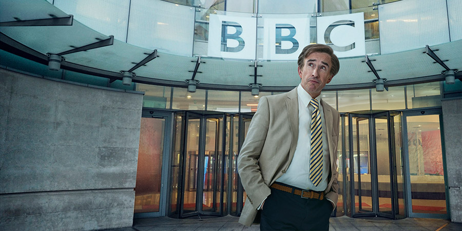This Time With Alan Partridge. Alan Partridge (Steve Coogan). Copyright: Baby Cow Productions.