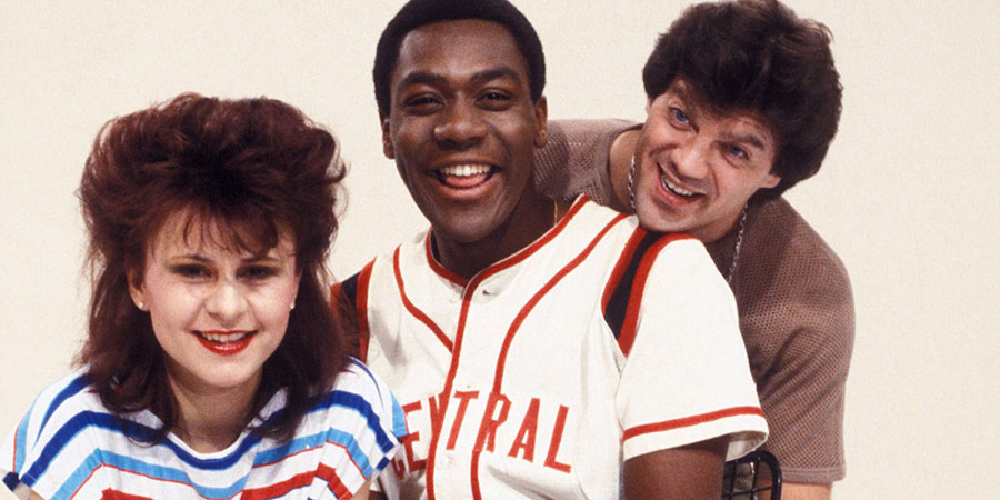 Three Of A Kind. Image shows from L to R: Tracey Ullman, Lenny Henry, David Copperfield. Copyright: BBC.
