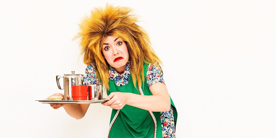 Tina T'urner Tea Lady. Tracey Collins.