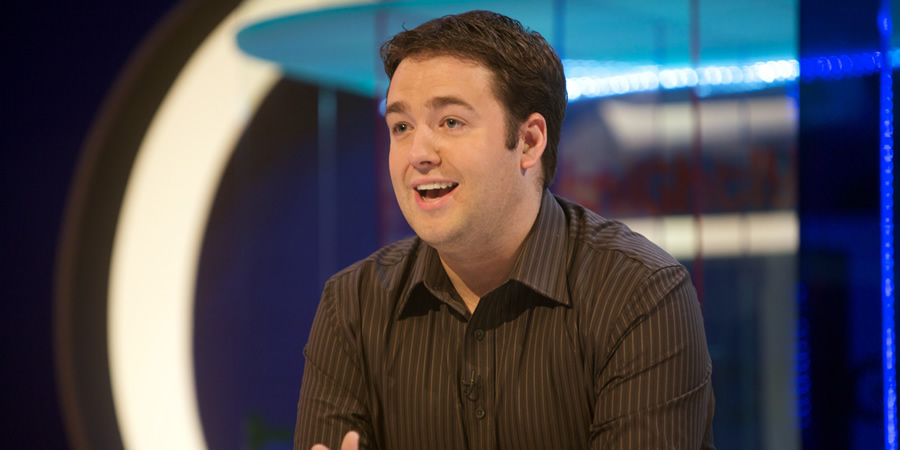 Tonightly. Jason Manford. Copyright: Objective Productions.