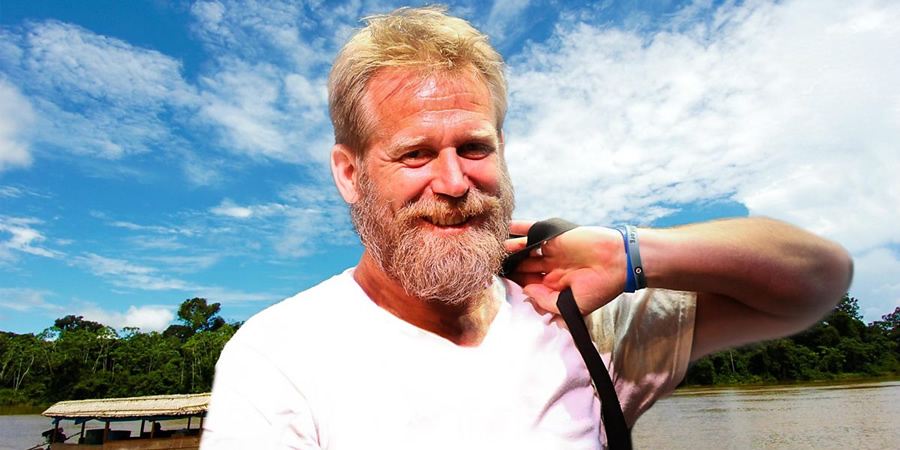 Tony Law: 21st Century Adventurer. Tony (Tony Law). Copyright: BBC.