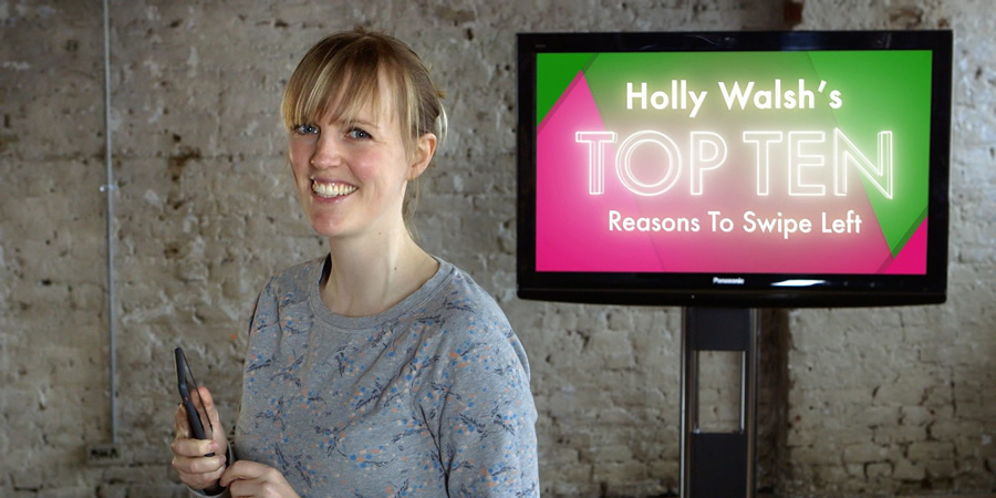 Top Ten. Holly Walsh. Copyright: BBC.