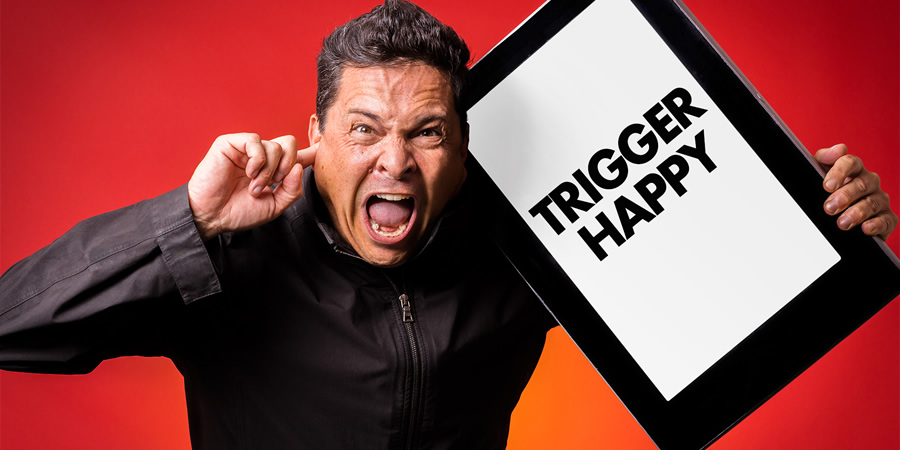 Trigger Happy. Dom Joly.