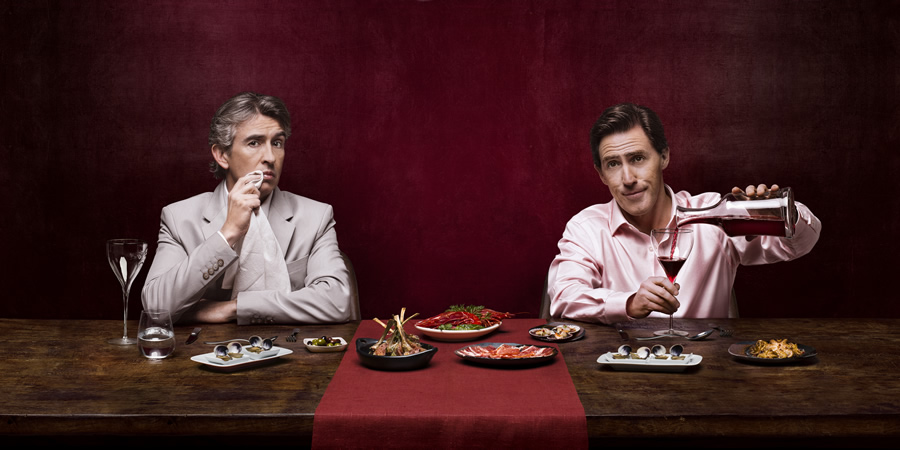 The Trip. Image shows from L to R: Steve (Steve Coogan), Rob (Rob Brydon).