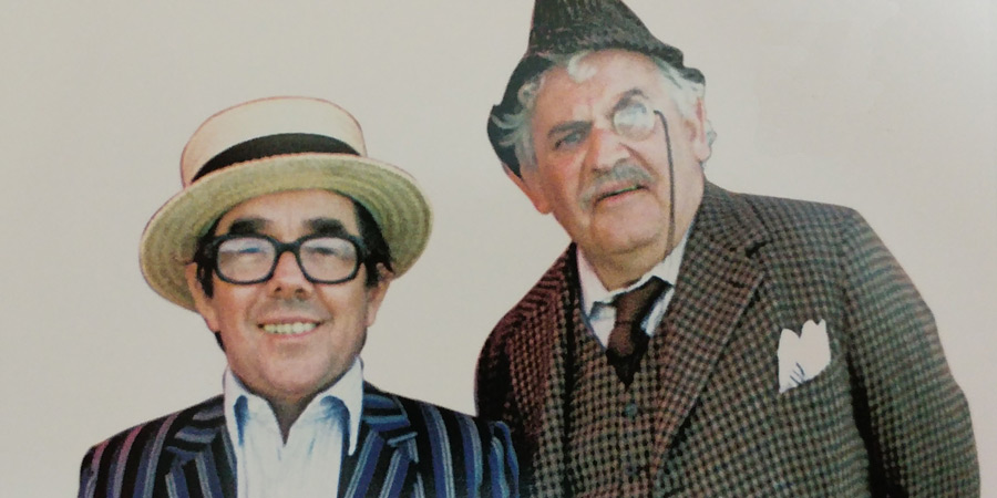 By The Sea. Image shows from L to R: The Son (Ronnie Corbett), The General (Ronnie Barker). Copyright: BBC.