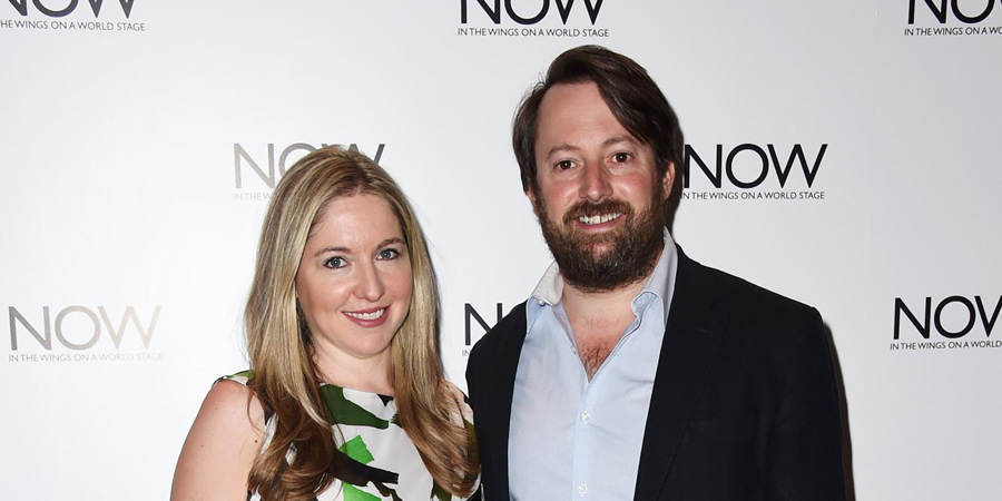 Image shows from L to R: Victoria Coren Mitchell, David Mitchell.