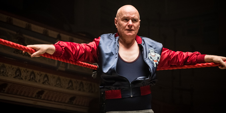Walk Like A Panther. Trevor 'Bulldog' Bolton (Dave Johns).