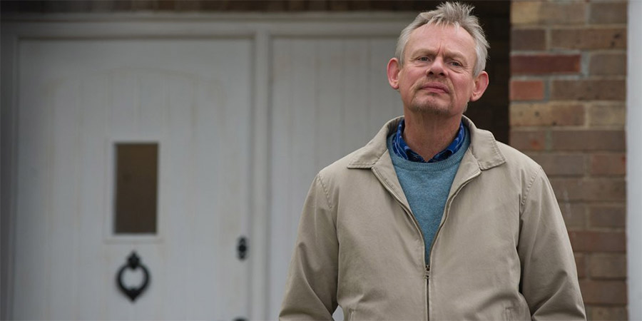 Warren. Warren Thompson (Martin Clunes). Copyright: Hat Trick Productions.