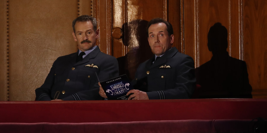 We Are Most Amused & Amazed. Image shows from L to R: Alexander Armstrong, Ben Miller.