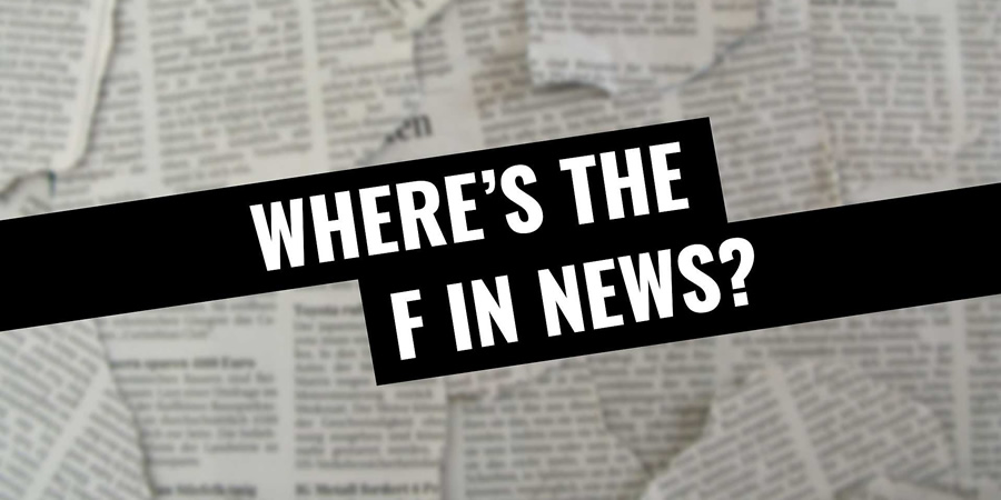 Where's The F In News. Copyright: Avalon Television.