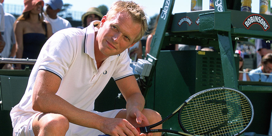 Wimbledon. Peter Colt (Paul Bettany).