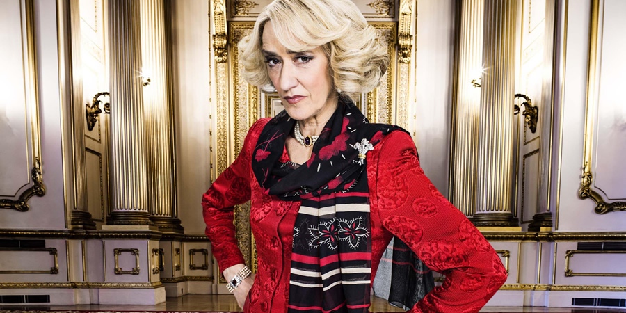 The Windsors. Camilla (Haydn Gwynne). Copyright: Noho Film and TV.