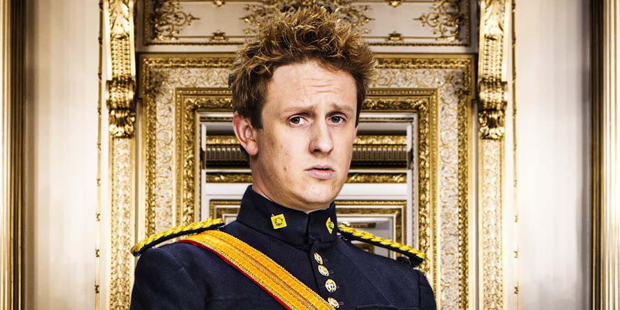The Windsors. Harry (Richard Goulding). Copyright: Noho Film and TV.