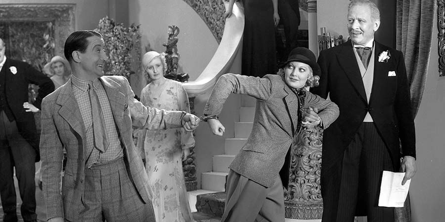 You Made Me Love You. Image shows from L to R: Tom Daly (Stanley Lupino), Unknown, Pamela Berne (Thelma Todd), Oliver Berne (James Carew).