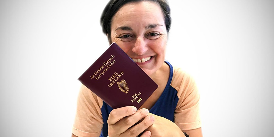 Zoe Lyons: Passport Paddy. Zoe Lyons. Copyright: Impatient Productions.