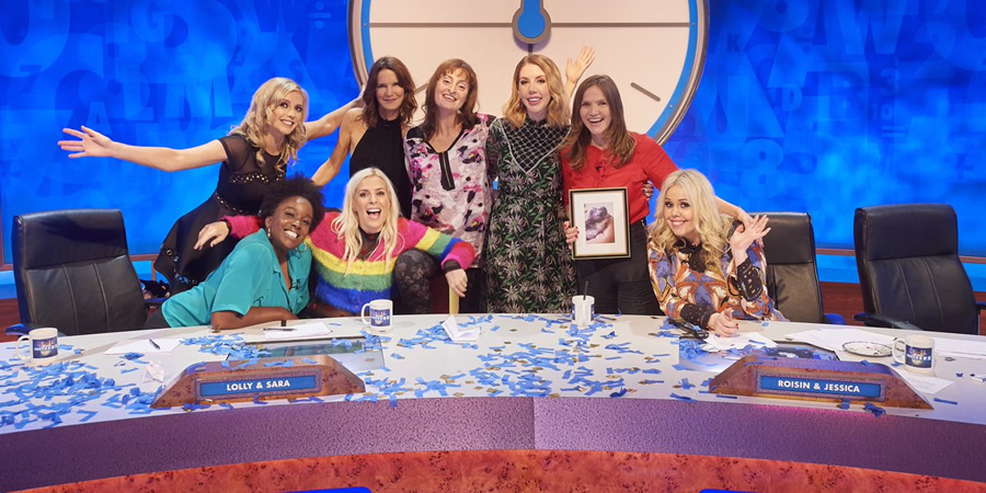 8 out of 10 cats countdown girl
