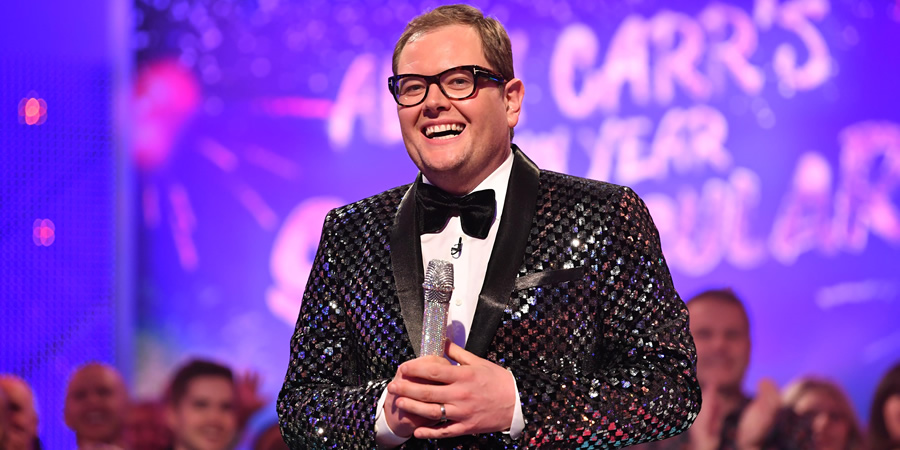 Alan Carr: Chatty Man. Alan Carr. Copyright: Open Mike Productions.