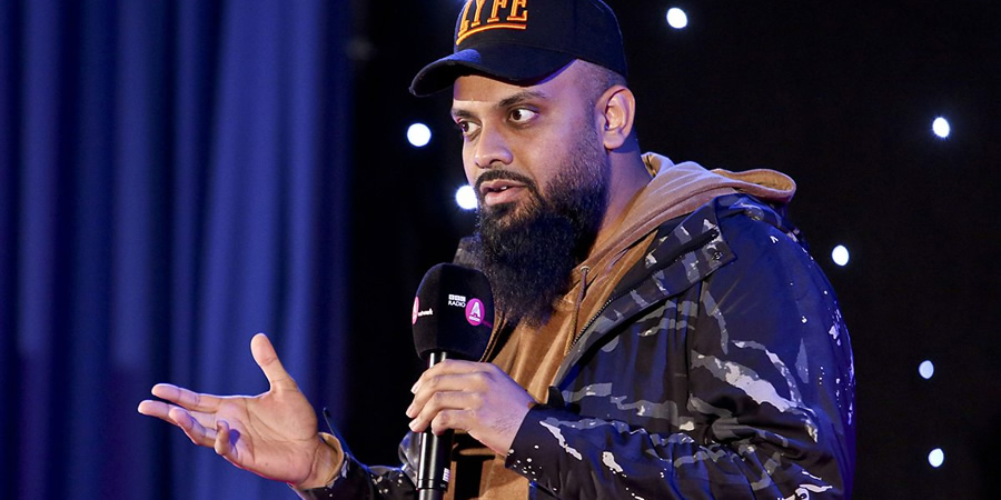 Asian Network Comedy. Guz Khan. Copyright: BBC.