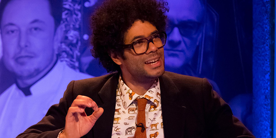 The Big Fat Quiz Of The Year. Richard Ayoade.