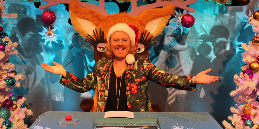 Celebrity Juice. Leigh Francis. Copyright: Talkback / TalkbackThames.