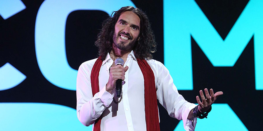 Channel 4's Comedy Gala. Russell Brand.