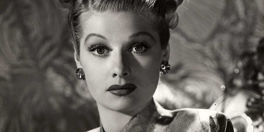 Comedy Legends. Lucille Ball. Copyright: 3DD.