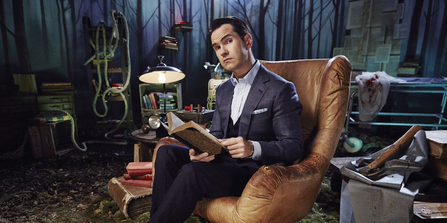 Crackanory. Jimmy Carr. Copyright: Tiger Aspect Productions.