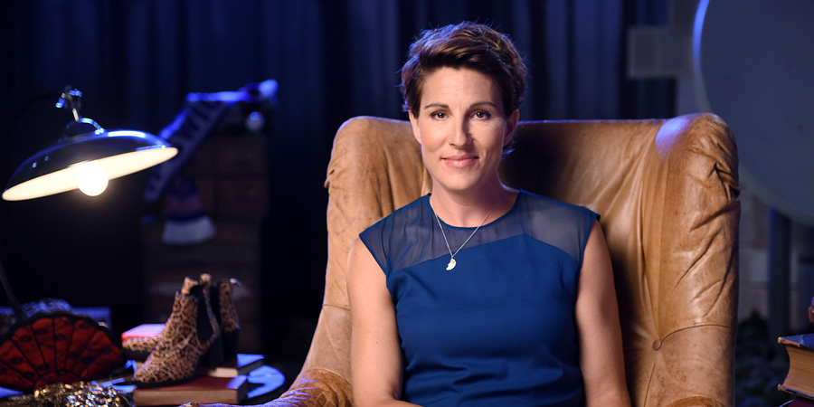 Crackanory. Tamsin Greig. Copyright: Tiger Aspect Productions.