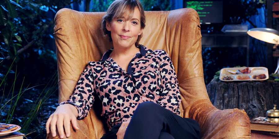 Crackanory. Mel Giedroyc. Copyright: Tiger Aspect Productions.
