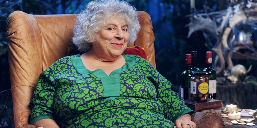 Crackanory. Miriam Margolyes. Copyright: Tiger Aspect Productions.