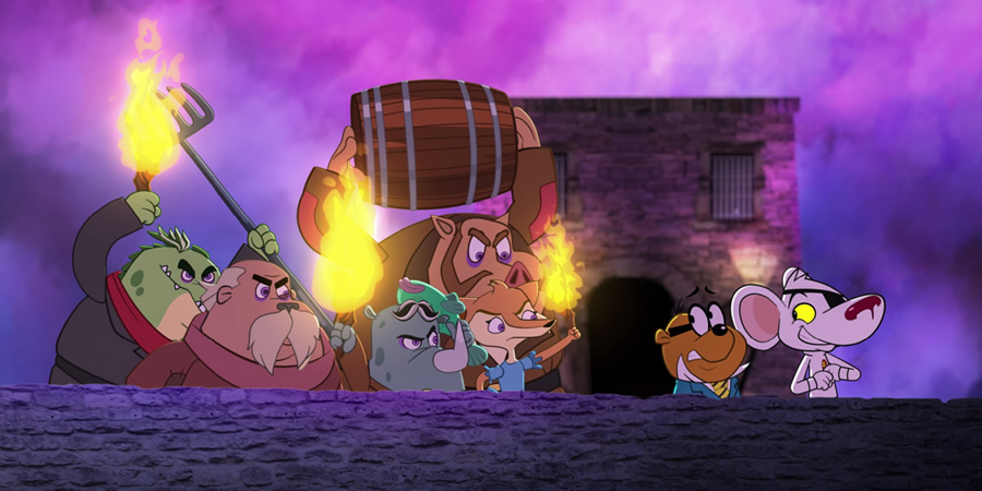 Danger Mouse Series 1 Episode 21 From Duck To Dawn