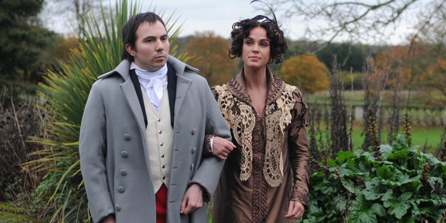 Drunk History. Image shows from L to R: Unknown, Disgusted Lady (Vicky Pattison). Copyright: Tiger Aspect Productions.