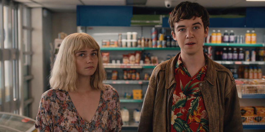 "Képtalálat a következőre: ""the end of the f *** ing world based on"""