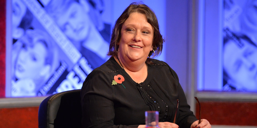 Have I Got News For You. Kathy Burke.